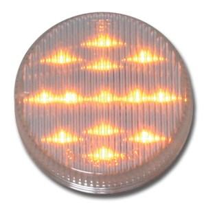 """79317 2.5"""" Fleet LED Marker Light in Amber/Clear"""