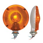 4″ Single Face Light Duty Pedestal Light
