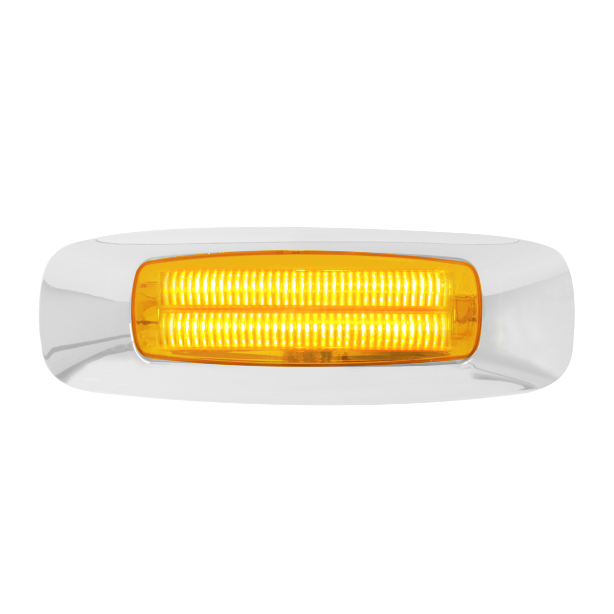 "74830 4-5/8"" Rectangular Prime LED Marker Light in Amber/Amber"
