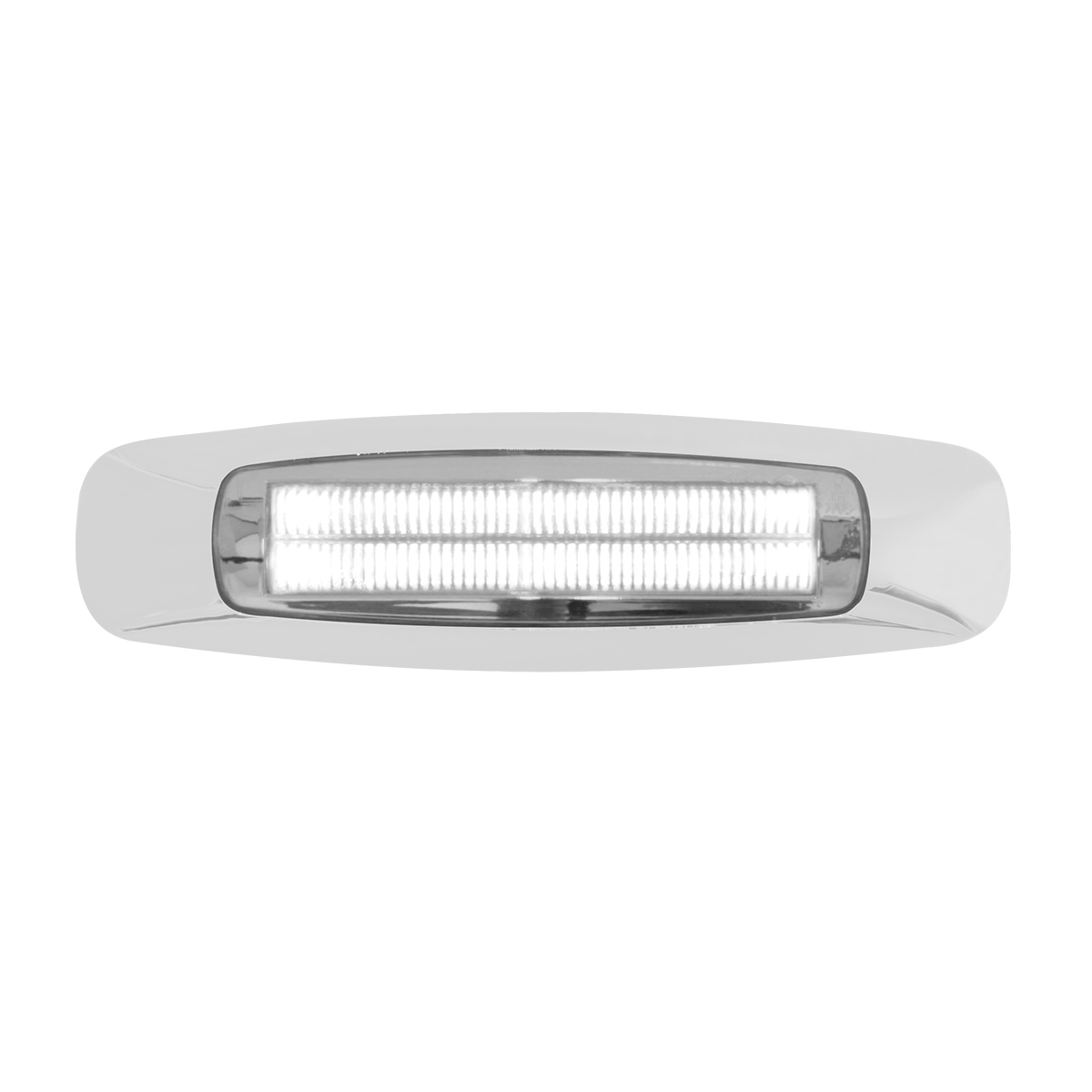 "74844 5-3/4"" Rectangular Prime LED Marker Light in White/Clear"