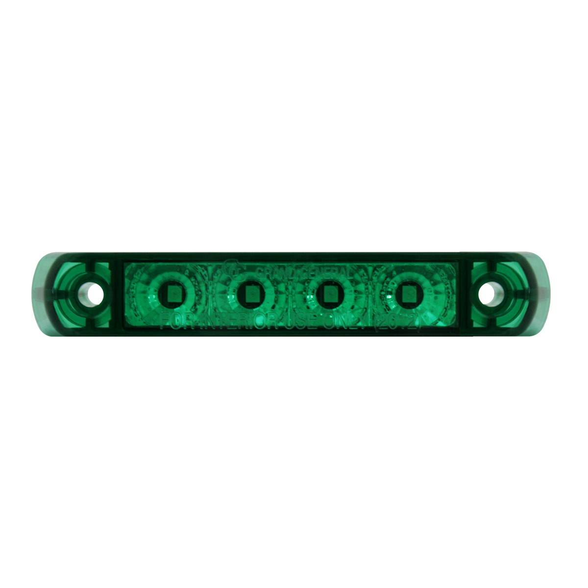 76086 Surface Mount Dual Function LED Light in Green/Green
