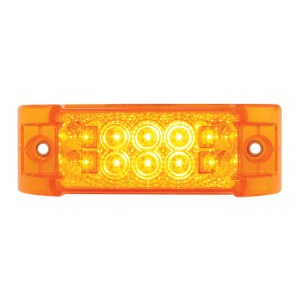 Rectangular Wide Angle Spyder LED Marker & Turn Light