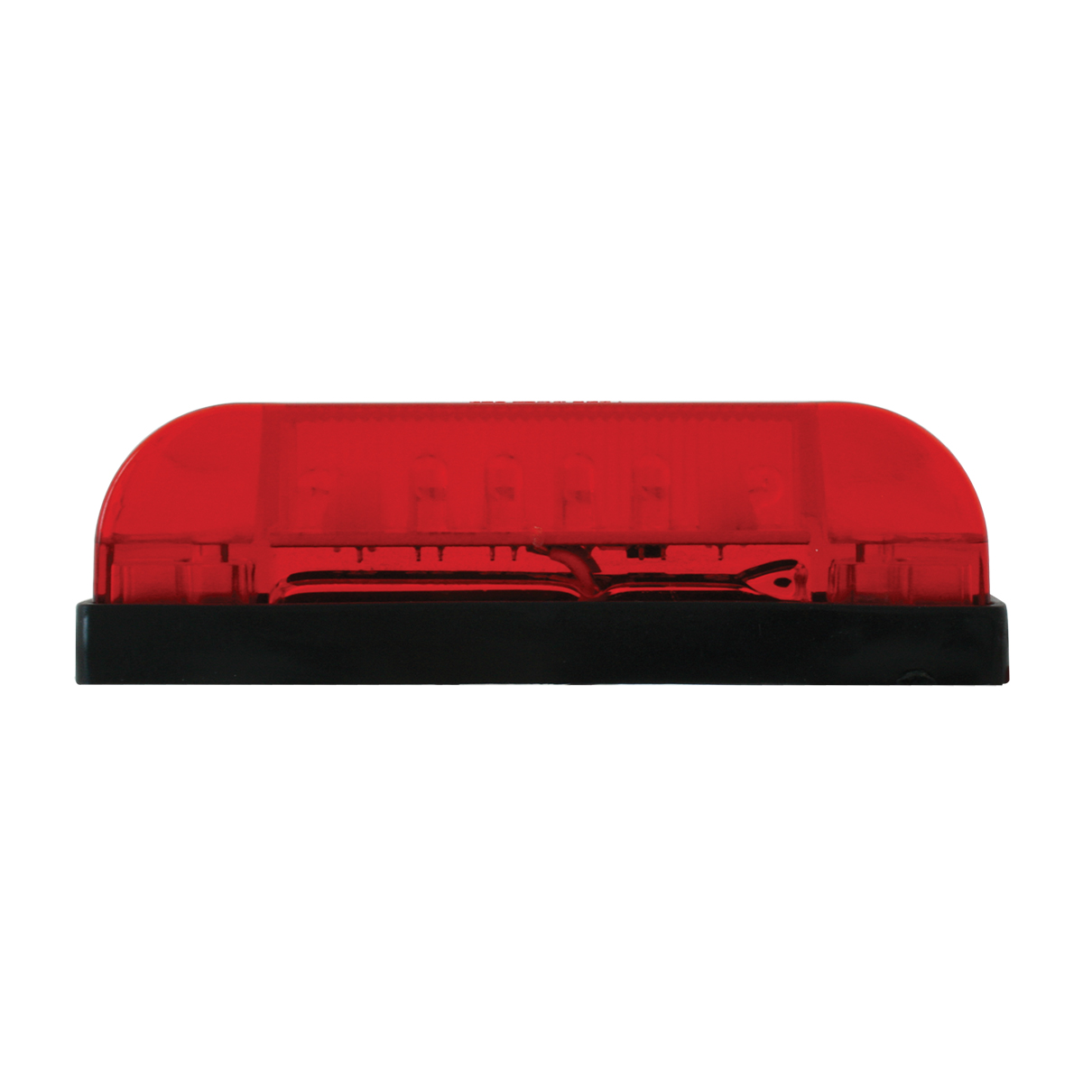 76222 Thin Line Wide Angle LED Marker Light in Red/Red