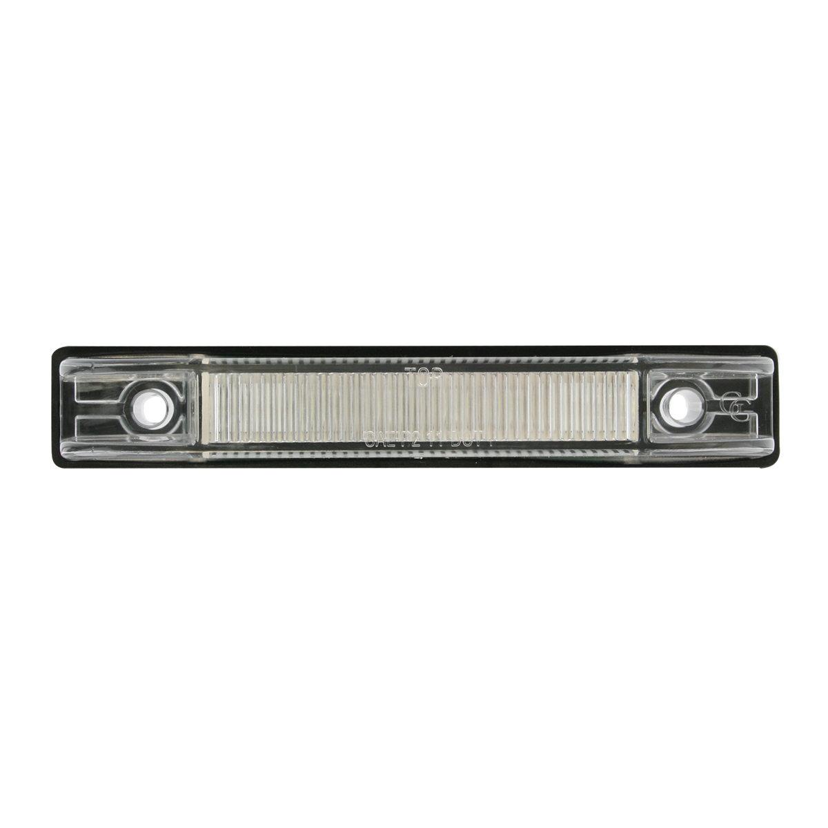 Thin Line Wide Angle LED Marker Light in Clear Lens