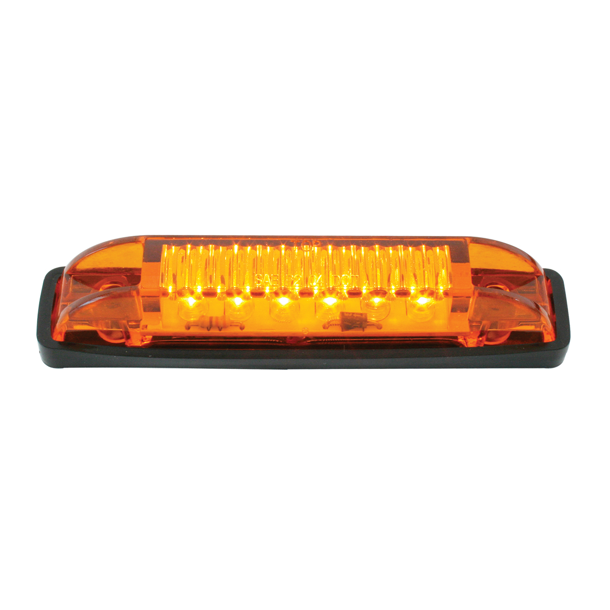 GG Grand General 77656 White//Clear Light Thin Line 6-LED Interior Use