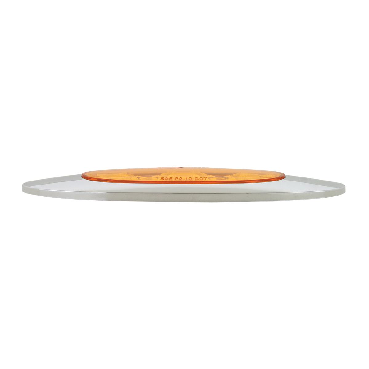 Ultra Thin Y2K Spyder LED Light in Amber/Amber