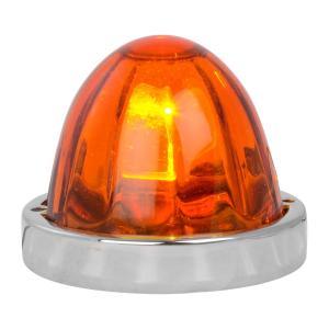 Flush Mount Large Glass Marker Light Kits