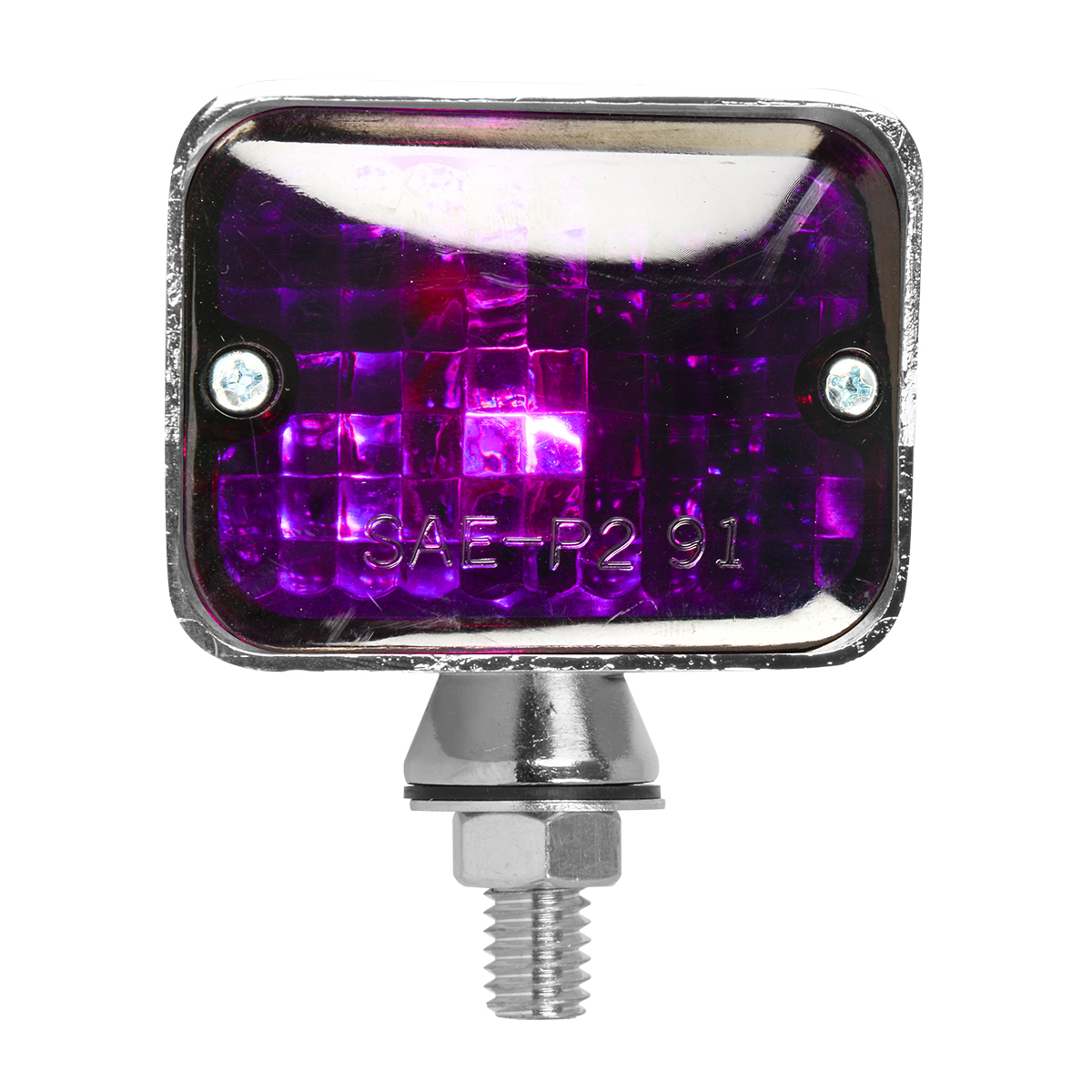 #80894 Small Single Filament Purple Light