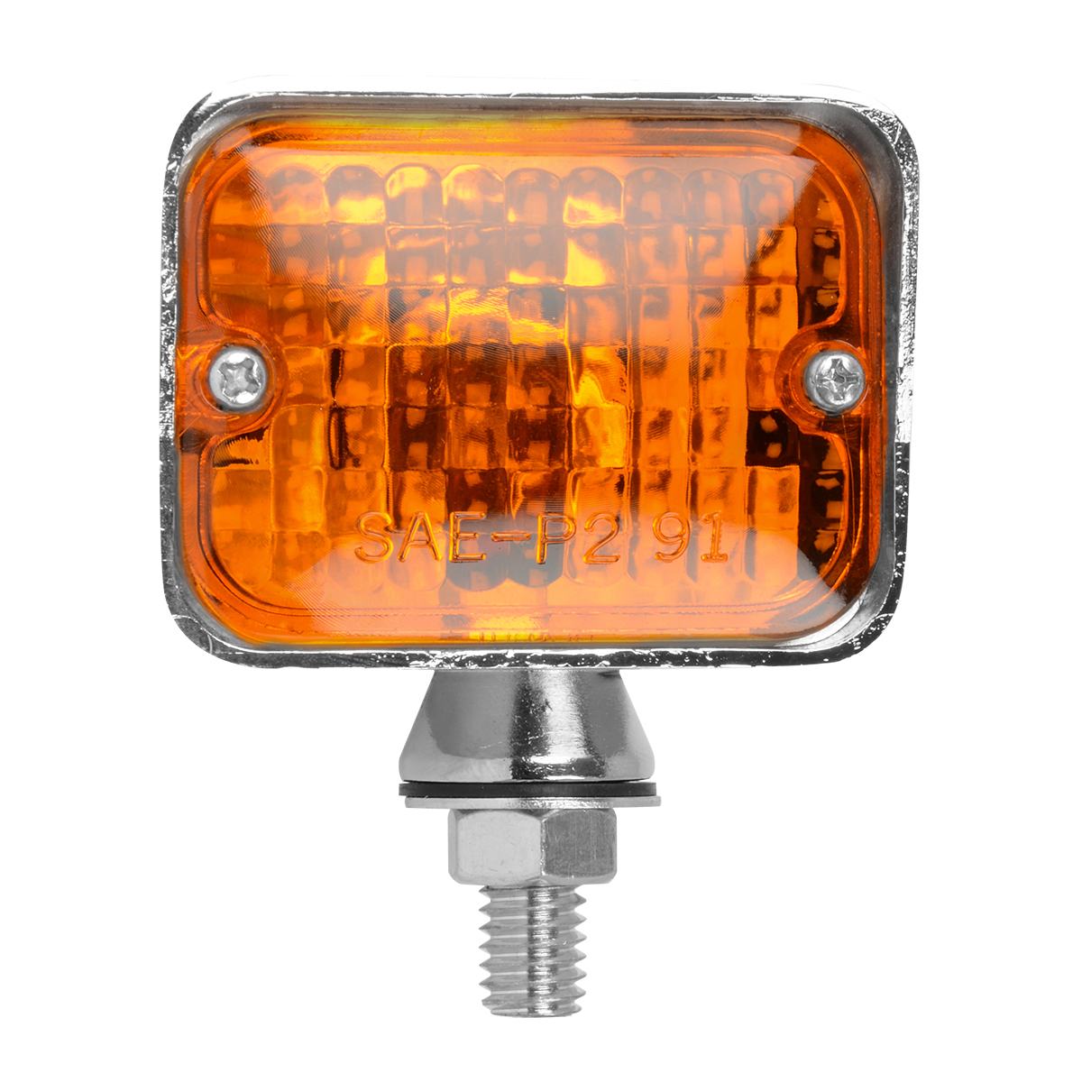#80910 Large Double Filament Amber Light