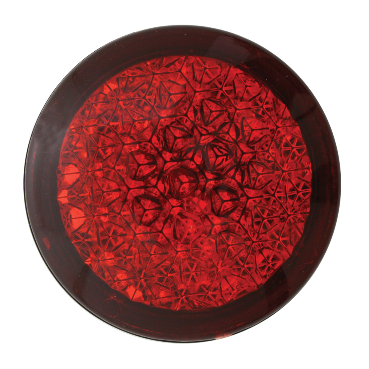 82314 Round Red Reflective Stick-On Auxiliary Light
