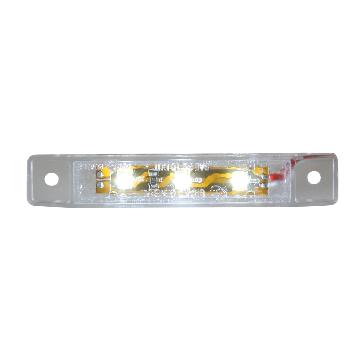 "76284 3.5"" Ultra Thin LED Marker Light"