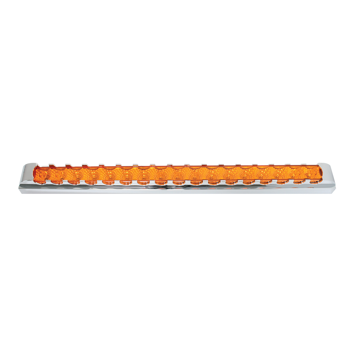 "76300 20"" Spyder LED Light Bar w/ Chrome Plastic Bezel"