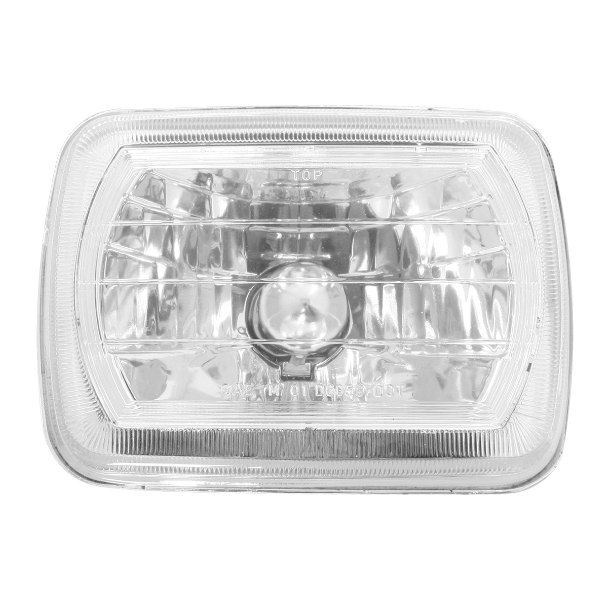 "#77391 (7.875"" x 5.6"") Rectangular Headlamp with #H4 Halogen Bulb"