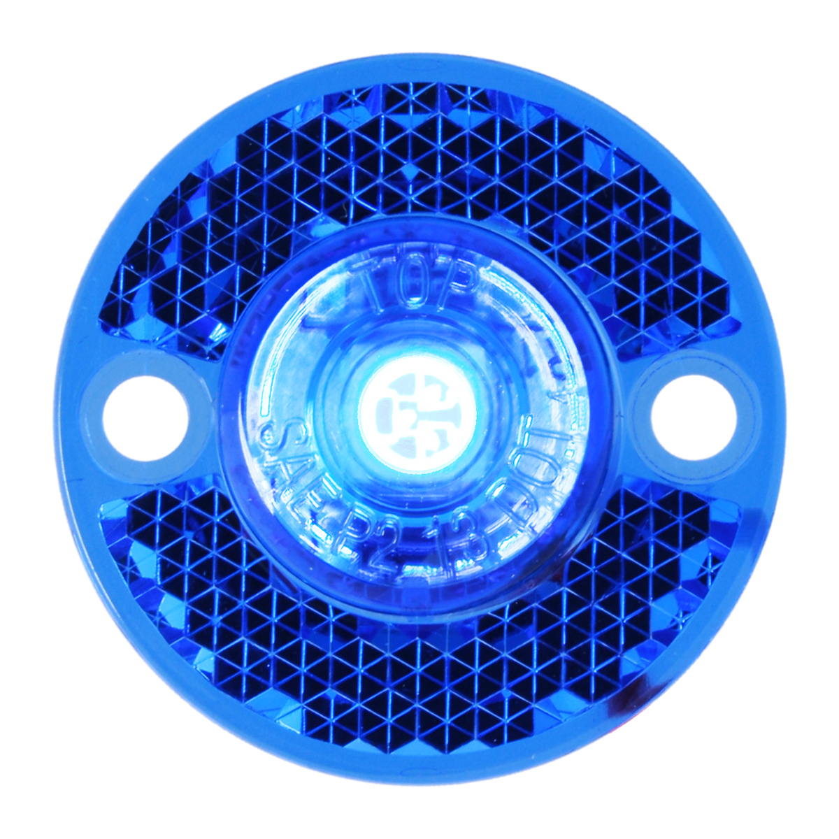 81785 Mini Surface Mount LED Light in Blue/Blue