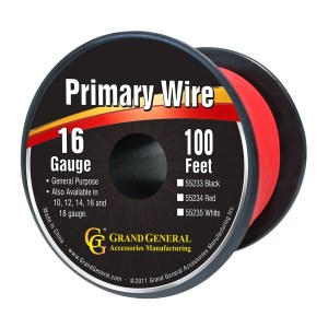 Primary Wires in 16 Gauge