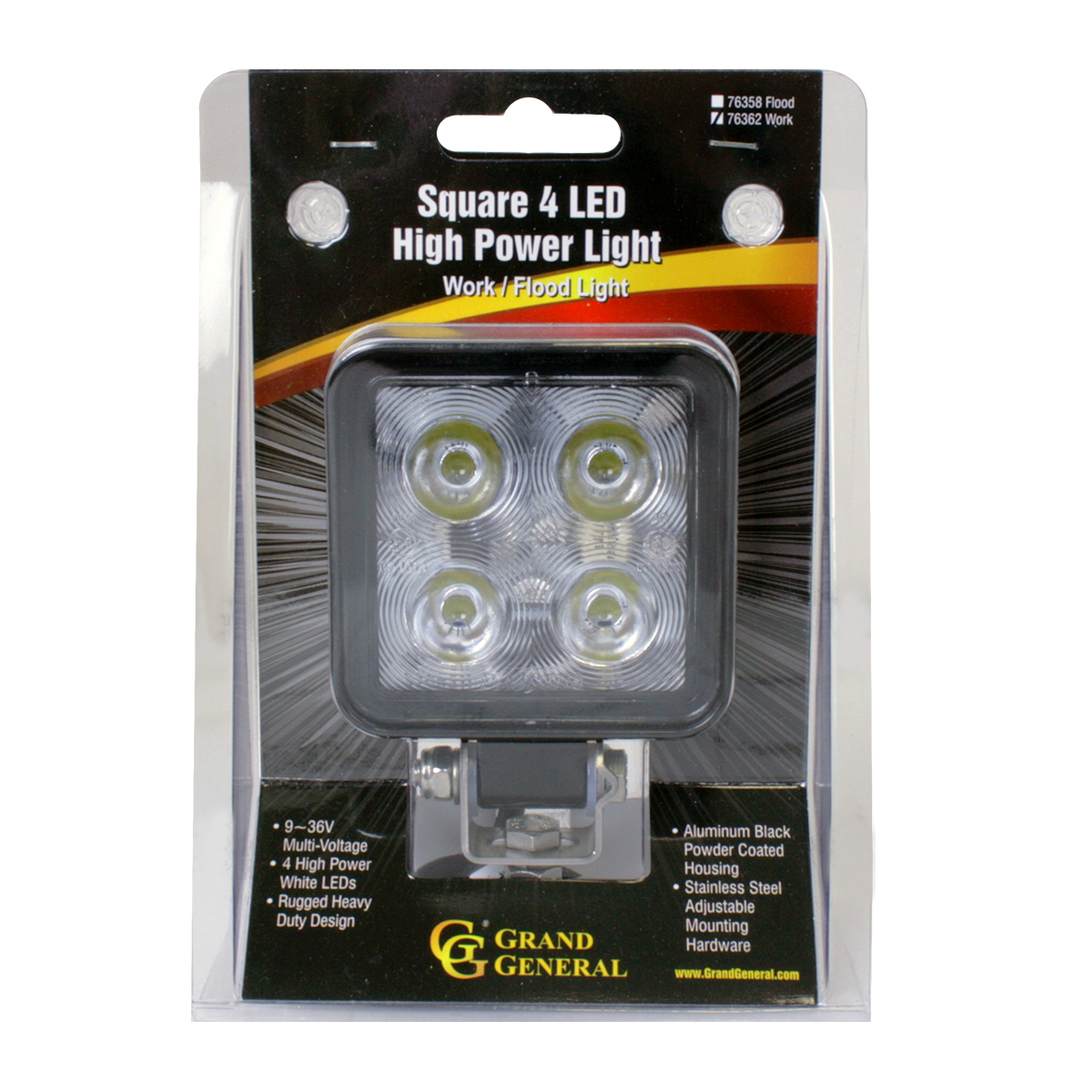 76362 Small High Power LED Work Light