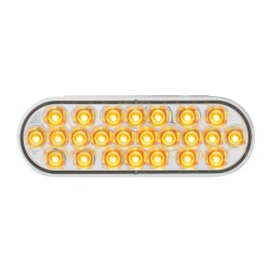 Oval Synchronous/Alternating Pearl LED Strobe Light