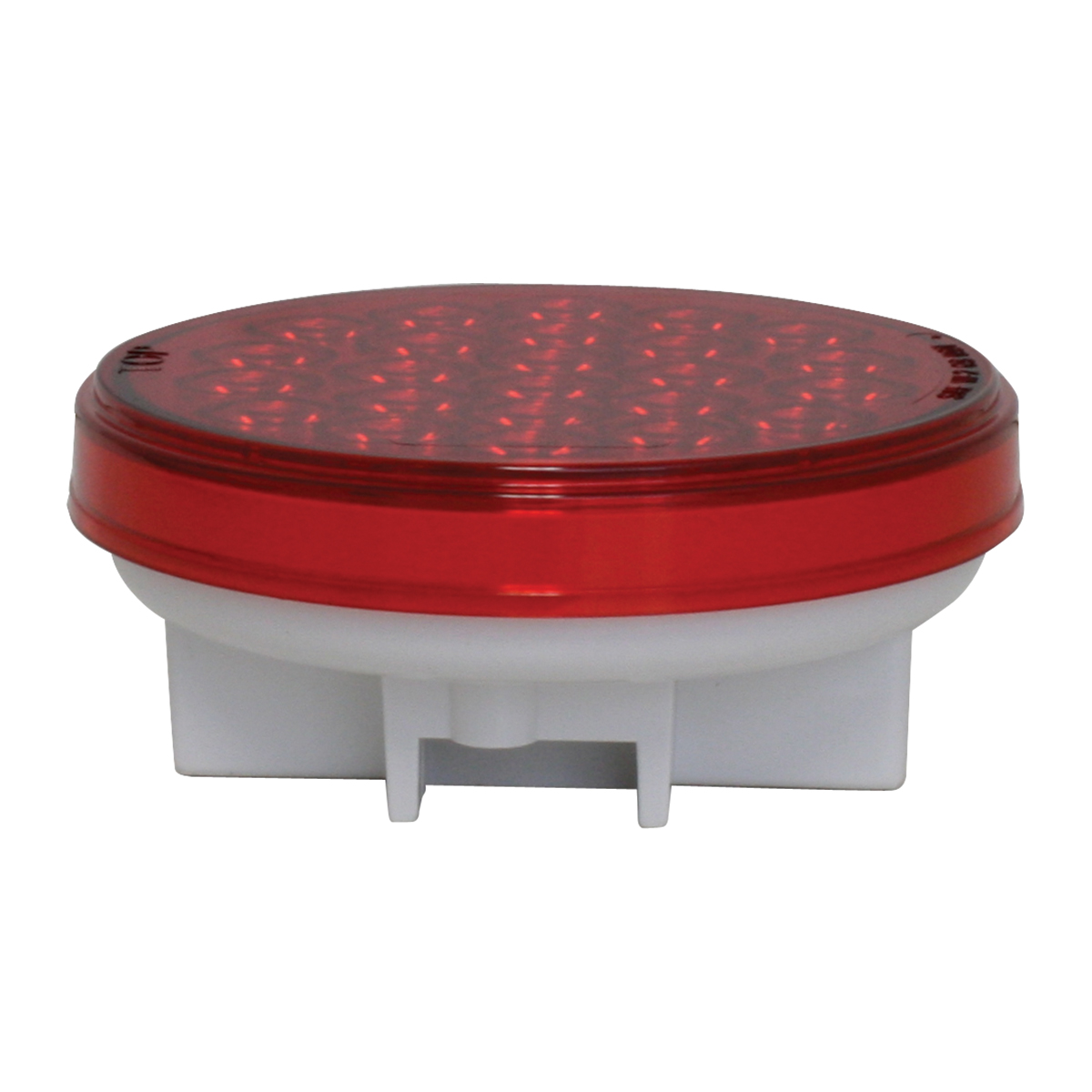 "76507 4"" Round Continuous Pearl LED Strobe Light"