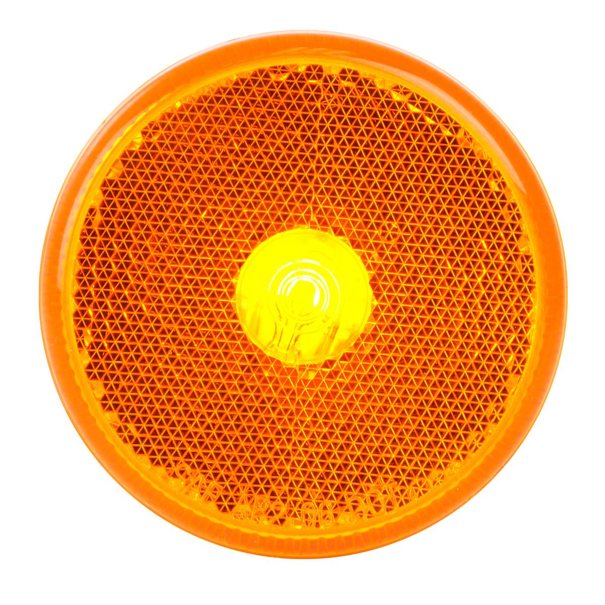 "#80713 2 ½"" Incandescent Flat Amber/Amber Light"