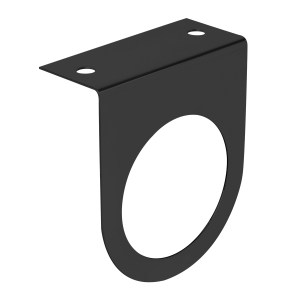"Black Single Light ""L"" Shape Mounting Brackets with 2 ½"" Sealed Light"