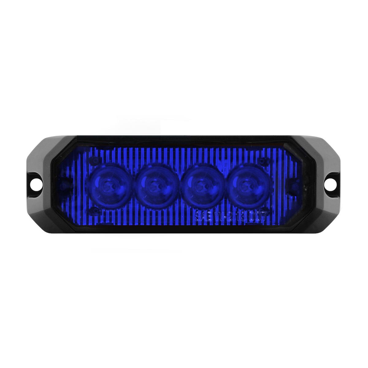 """81805 4"""" Medium Rectangular High Power LED Strobe Light"""