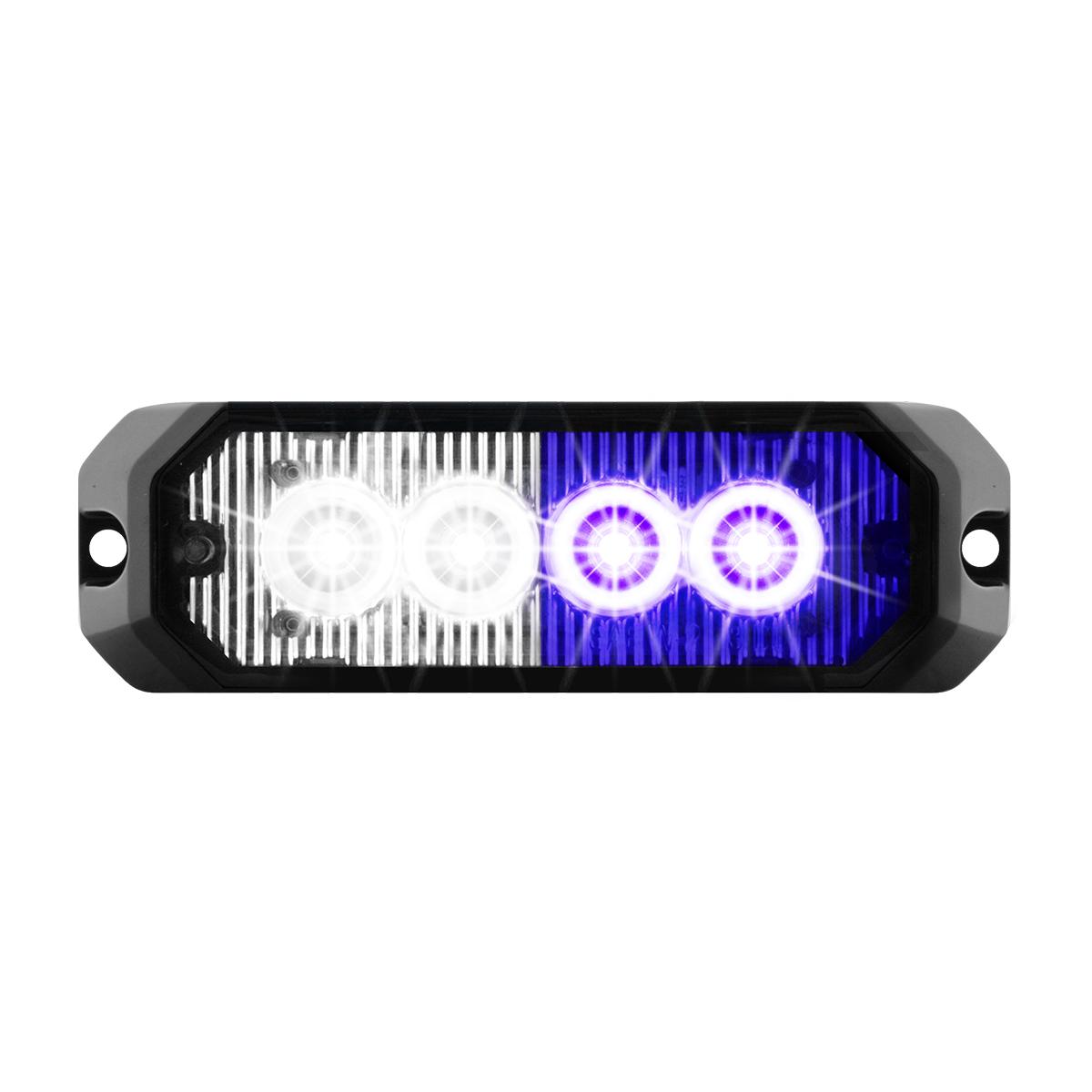 """81808 4"""" Medium Rectangular High Power LED Strobe Light"""