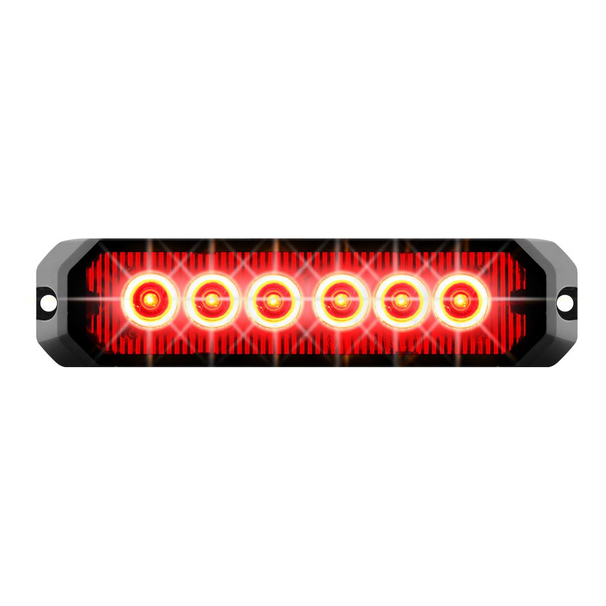 """81812 5"""" Medium Rectangular High Power LED Strobe Light"""