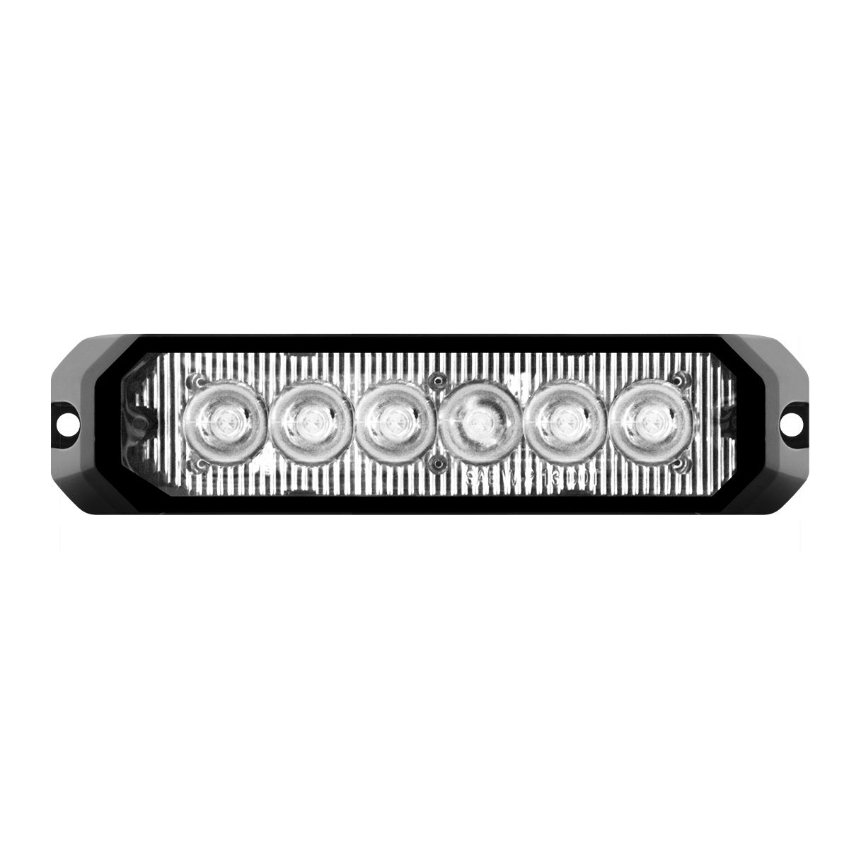 "81813 5"" Medium Rectangular High Power LED Strobe Light"