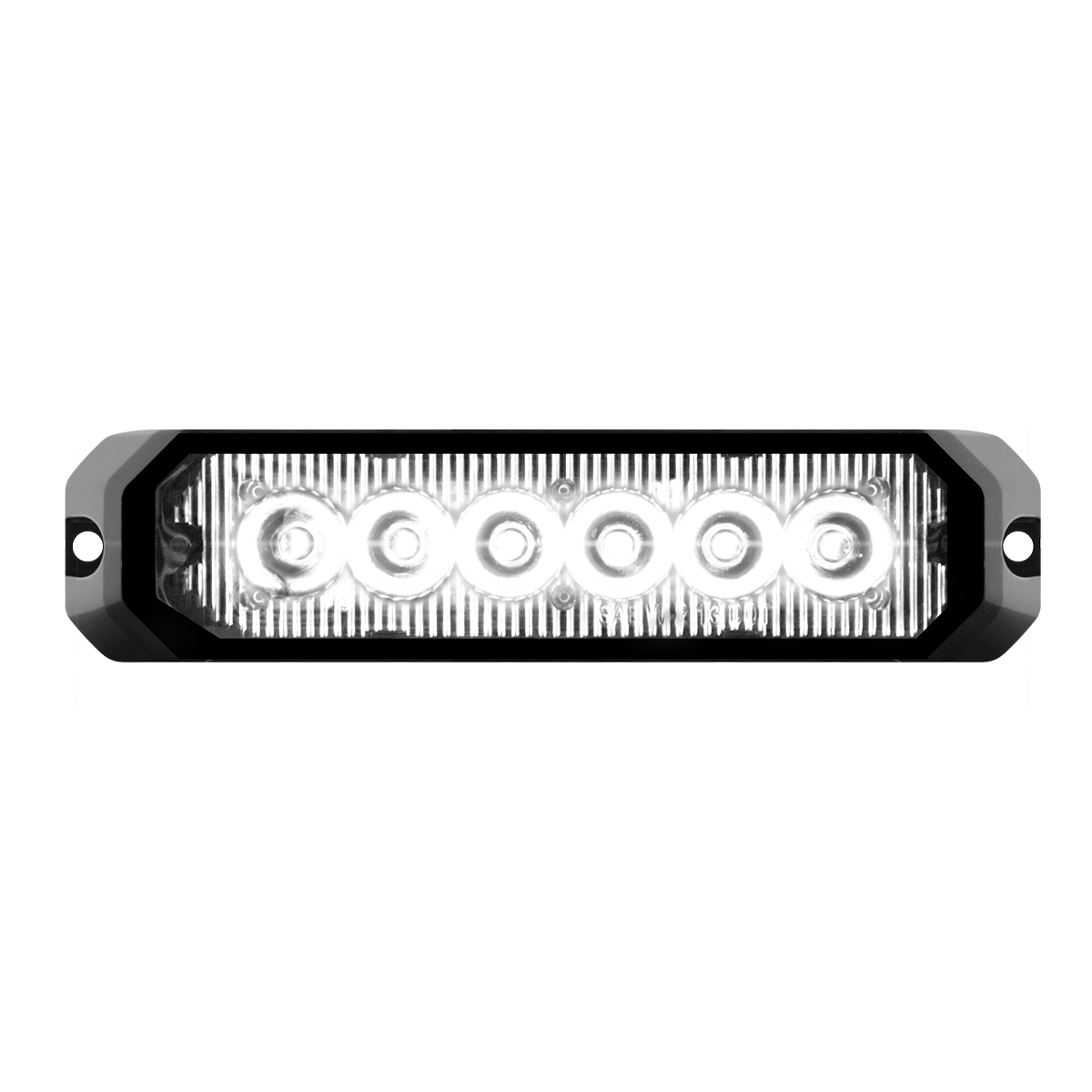 "81814 5"" Medium Rectangular High Power LED Strobe Light"