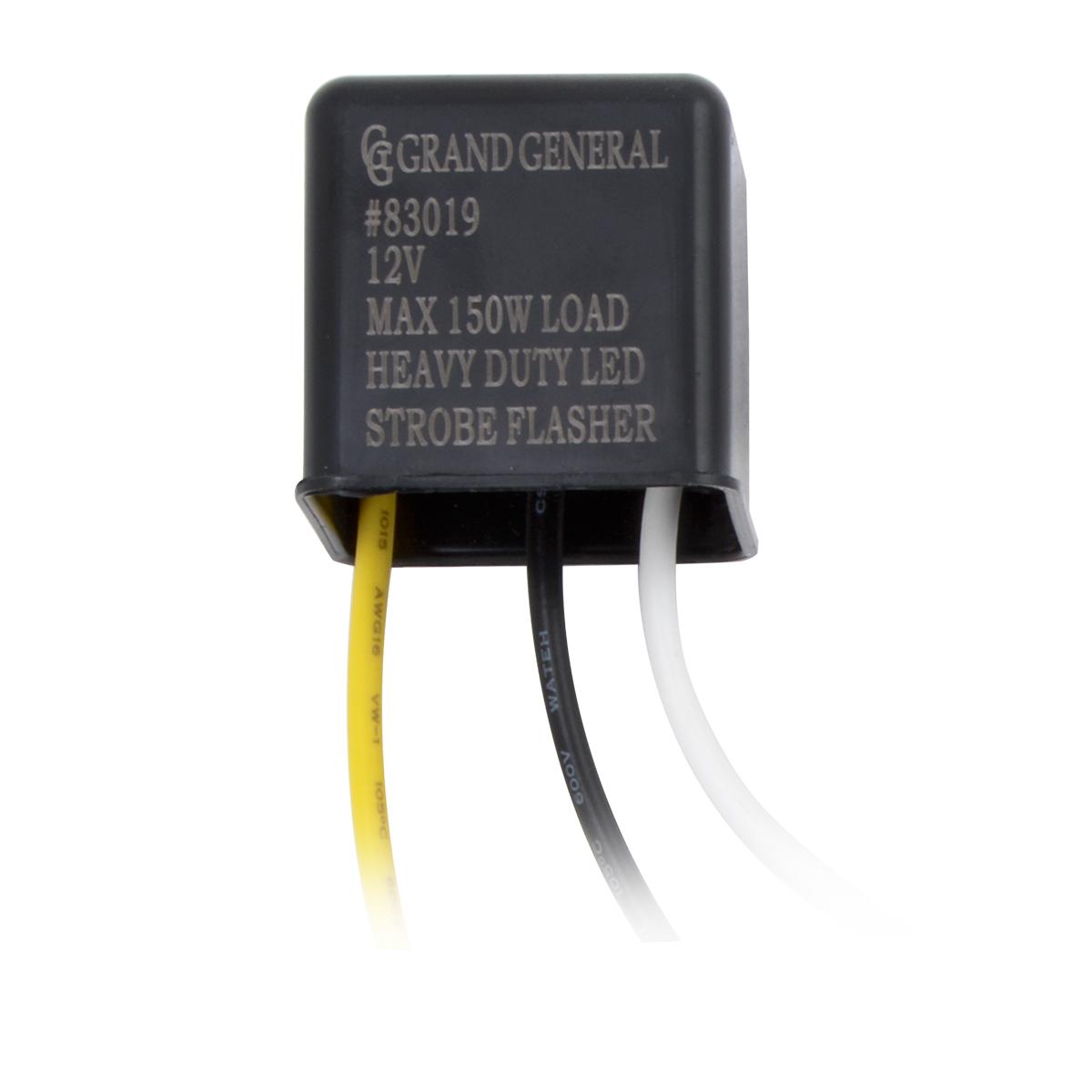 Heavy Duty Led Strobe Flasher Grand General Auto Parts Light Circuit Using Transistors 83019