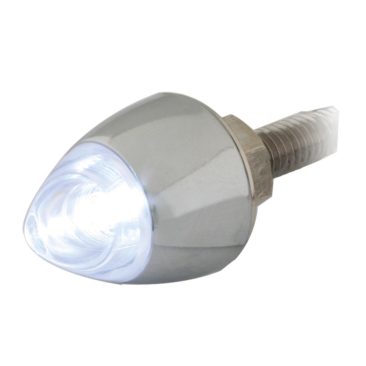 50925 White Bullet Fastener LED Light