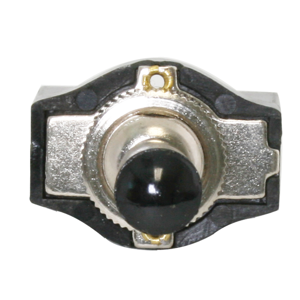 67980 Metal Toggle Switch with Black Plastic Cover