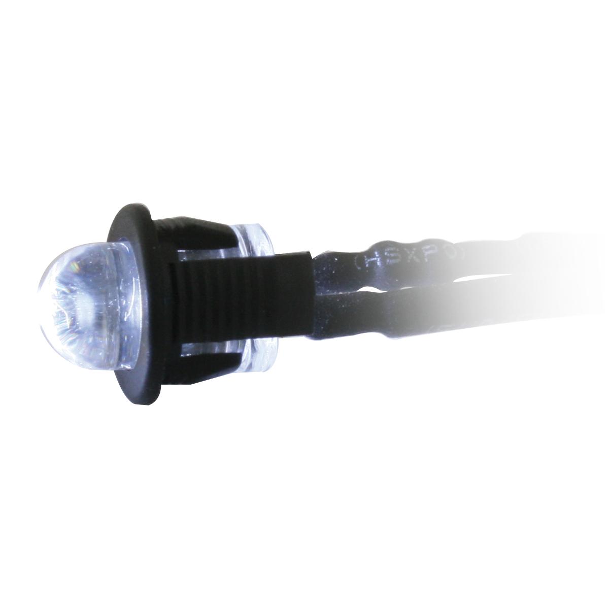 81256 White Interior Single LED Snake Light