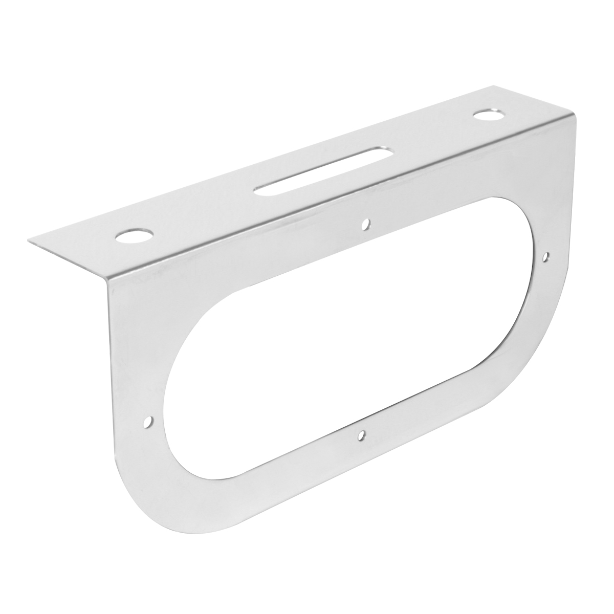 "#81382 Stainless Steel Single Light ""L"" Shape Mounting Bracket Only"