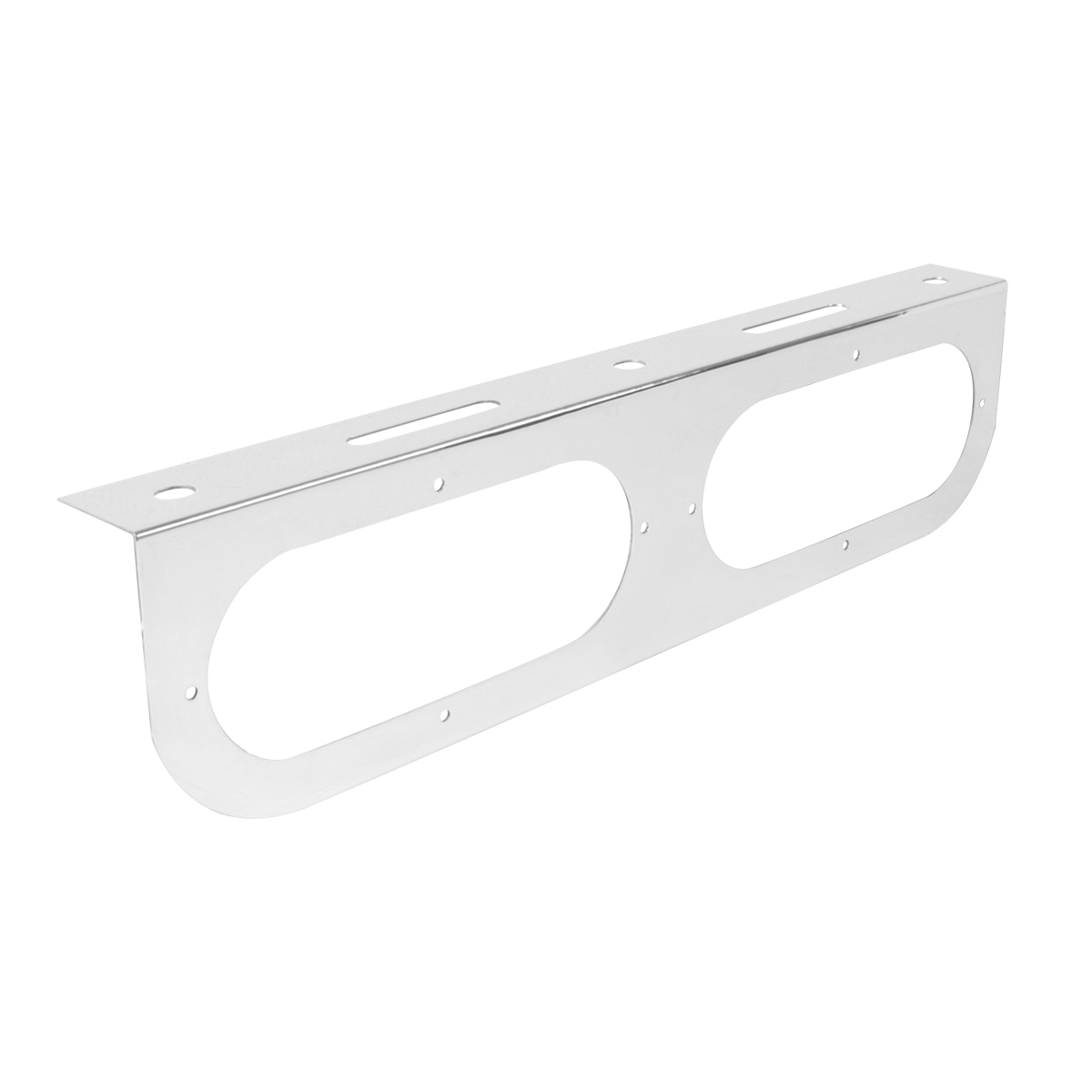 """Stainless Steel Double Light """"L"""" Shape Mounting Bracket Only"""
