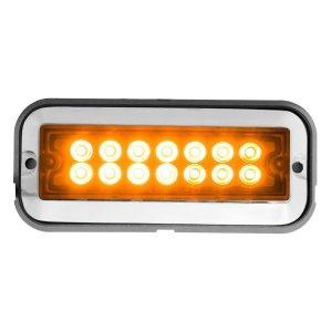 Medium Rectangular 14 LED Strobe Light