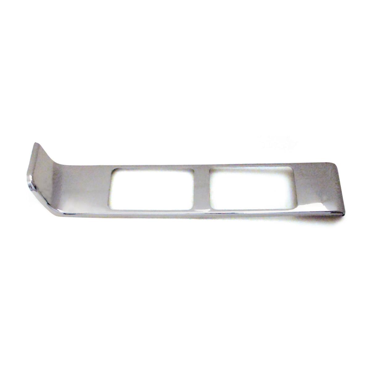68336 Chrome Plastic Passenger Side Vent Register Cover for Peterbilt