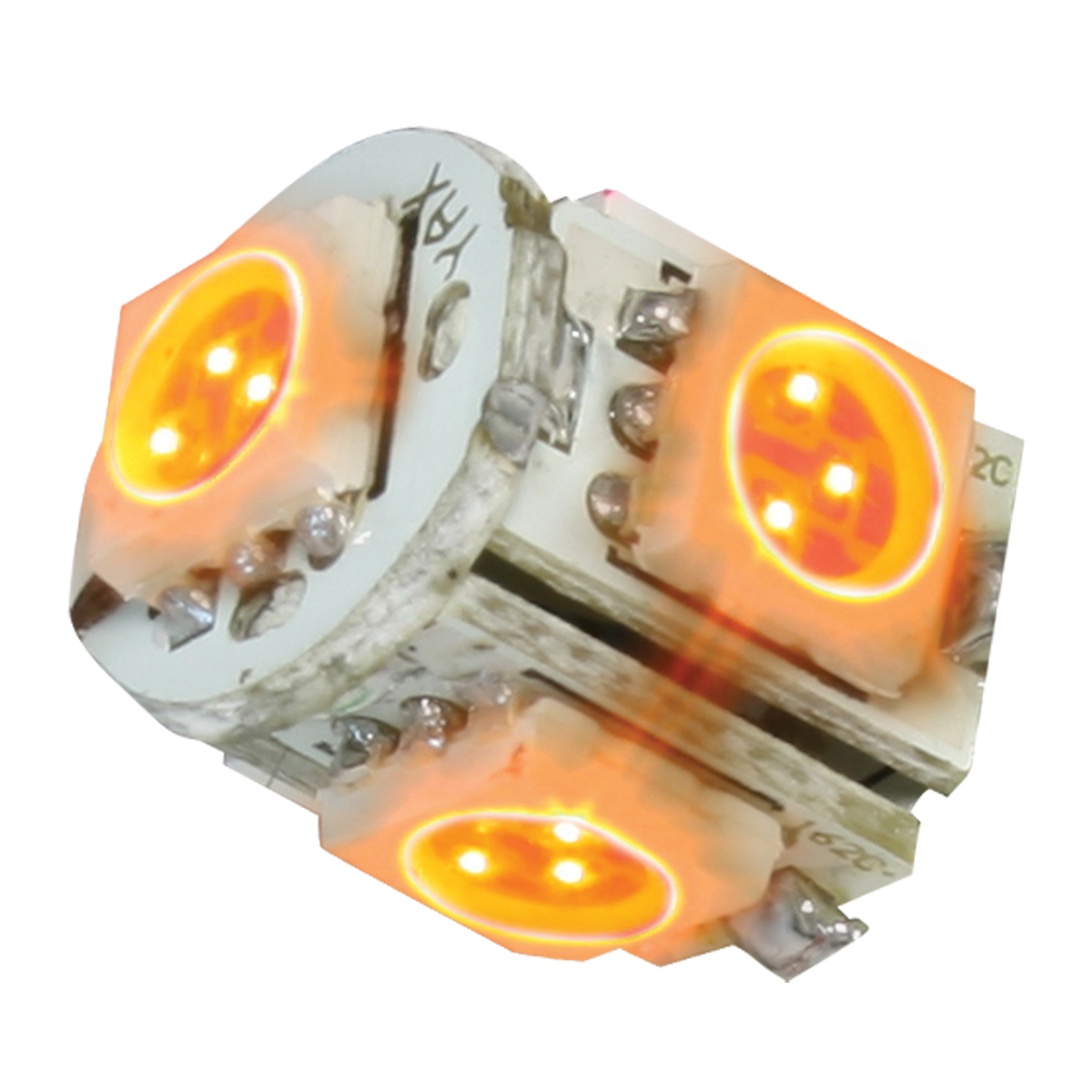 74910 Amber 194/168 Tower Style 5 LED Light Bulb
