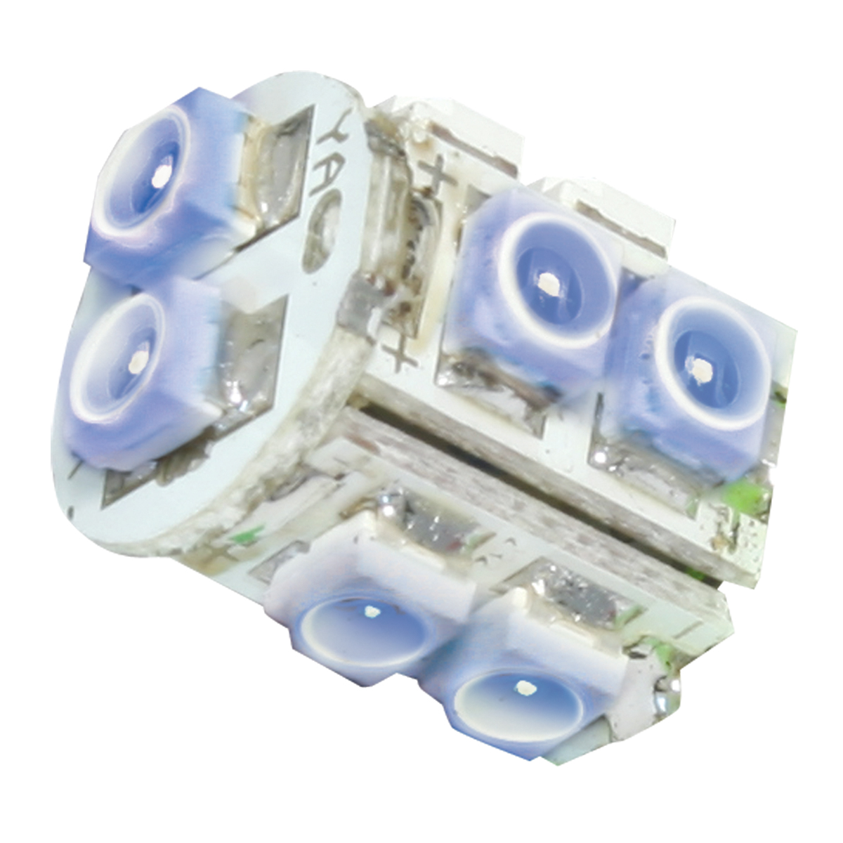 74921 Blue 194/168 Tower Style 10 LED Light Bulb