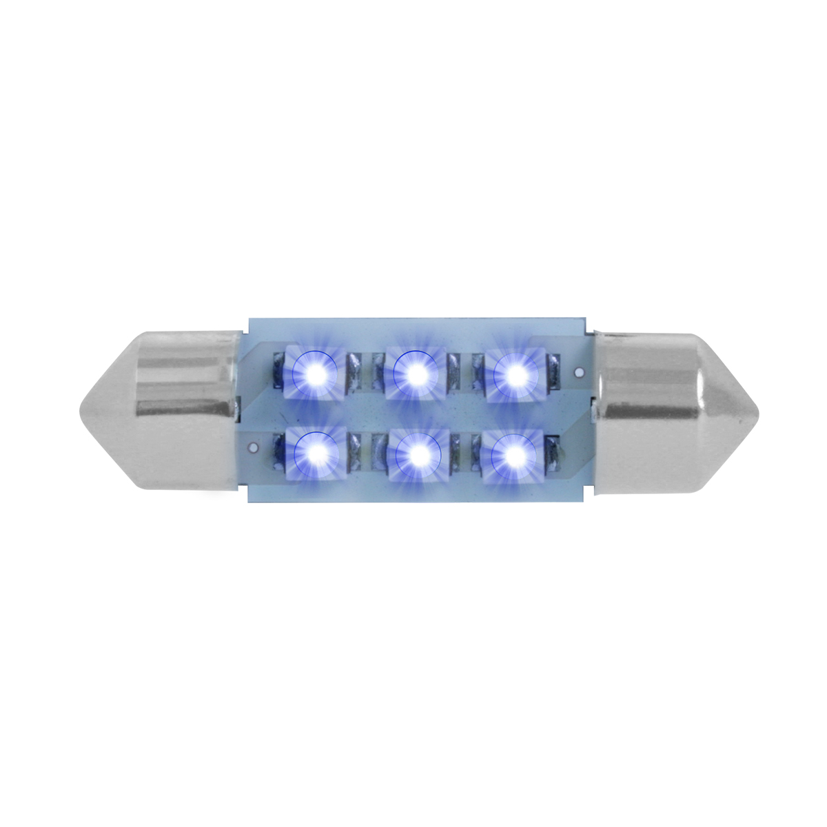 75001 Blue 211-2 Dome Type 6 LED Light Bulb