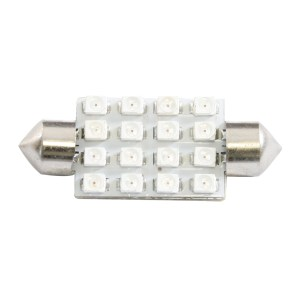 211-2 Dome Type 16 LED Light Bulb