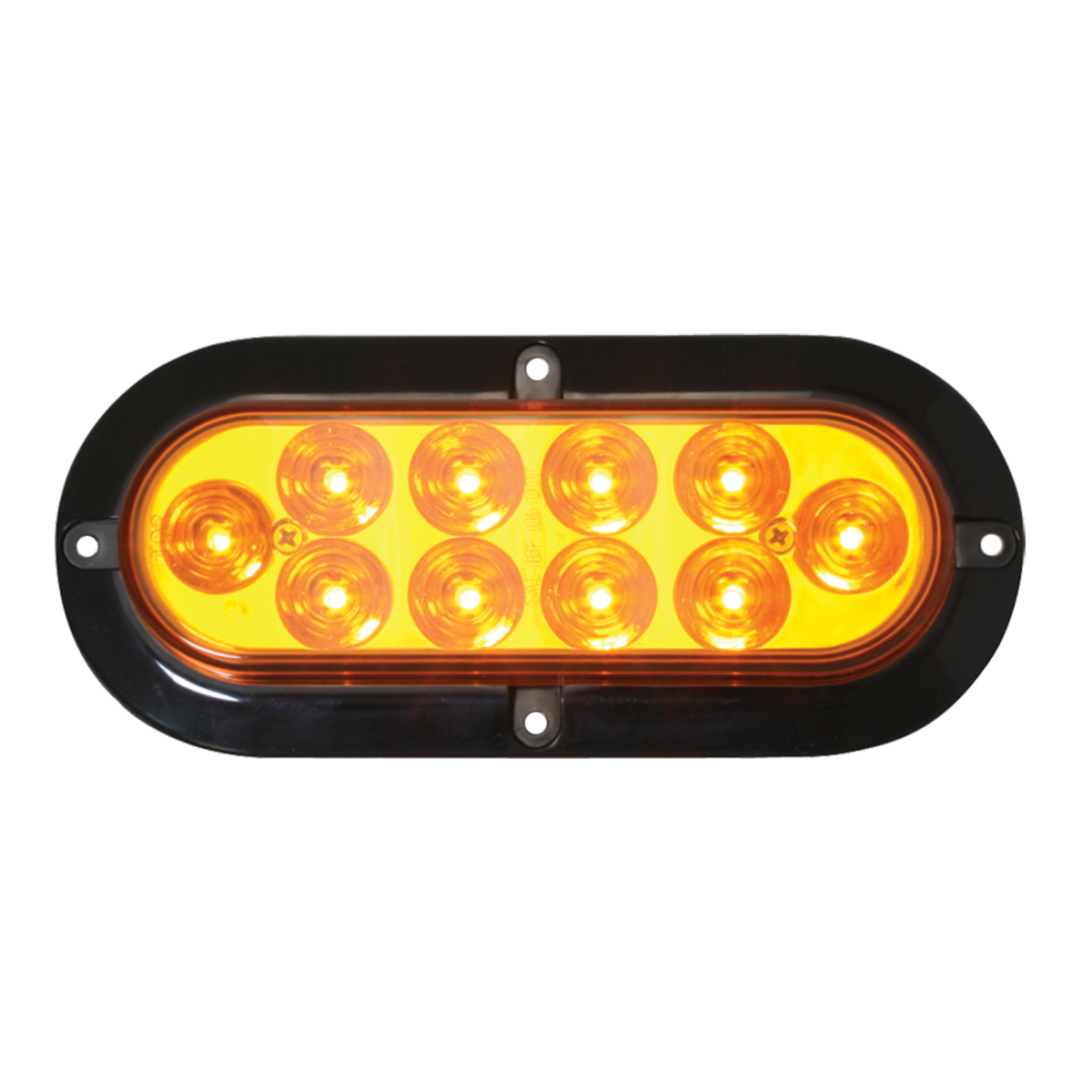 76870 Surface Mount Oval Mega 10 Plus LED Light