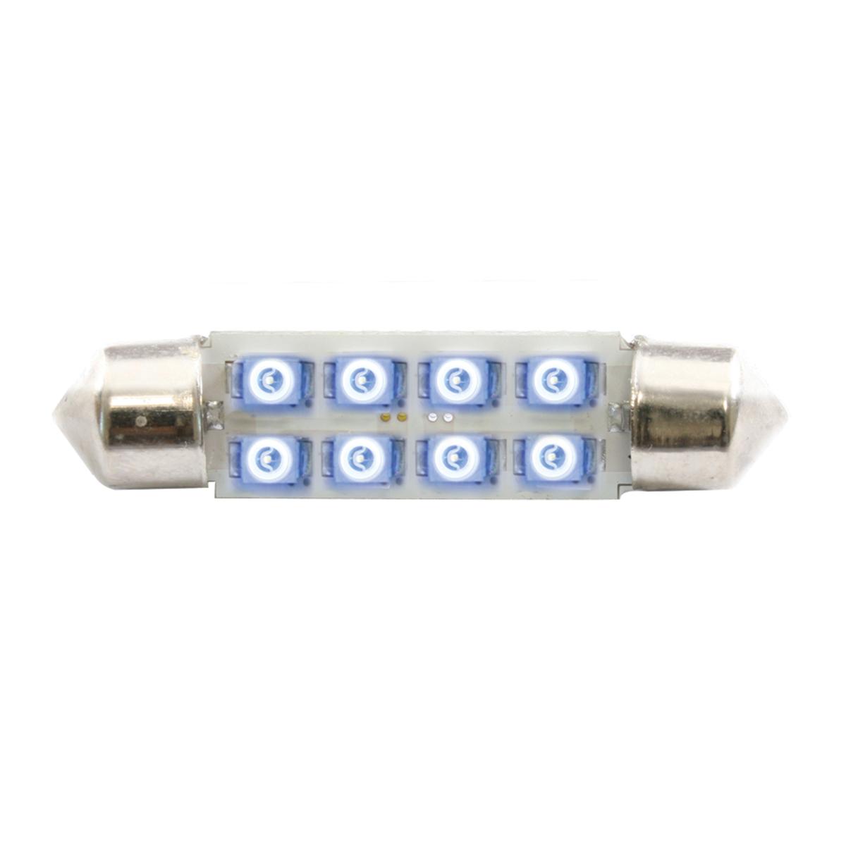 77151 Blue 211-2 Dome Type 8 LED Light Bulb