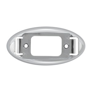 Bezel for Small Rectangular Marker Lights