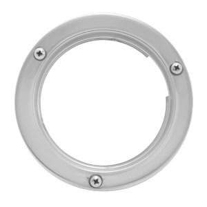 Stainless Steel Flange Mount Bezel II for 4″ Round Light