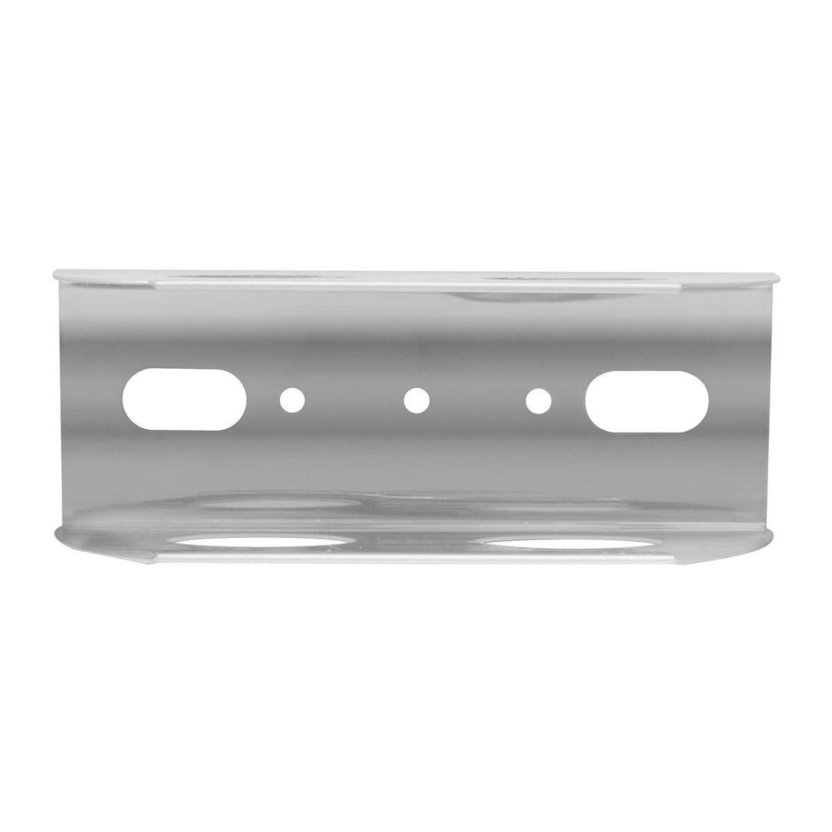 80014 Stainless Steel Lens Guard for Oblong 2 Bulb Marker Lights