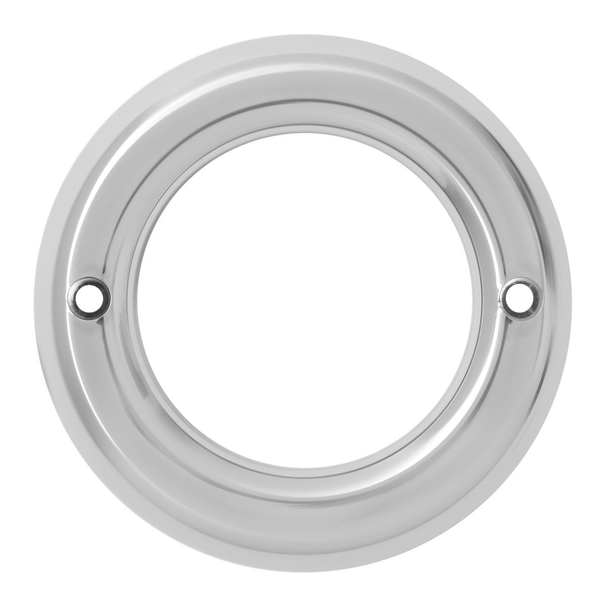 """80729 Chrome Plastic Grommet Cover w/o Visor for 2"""" Round Light"""