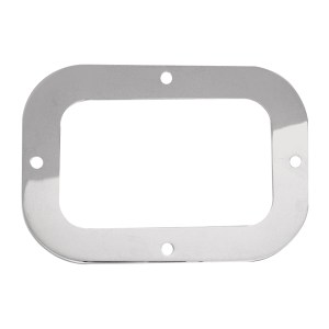 Stainless Steel Security Ring for Large Rectangular Light