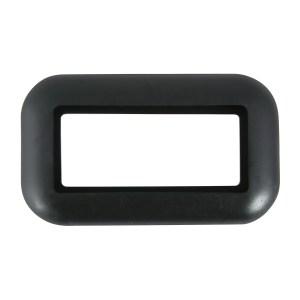 Grommet for Small Rectangular Light in Open Back Style