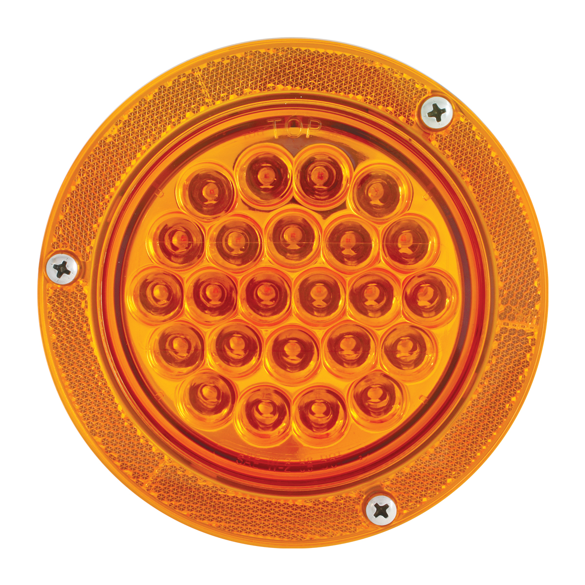 "81630 Amber Reflector Ring for 4"" Round Light (Light & Bezel Not Included"
